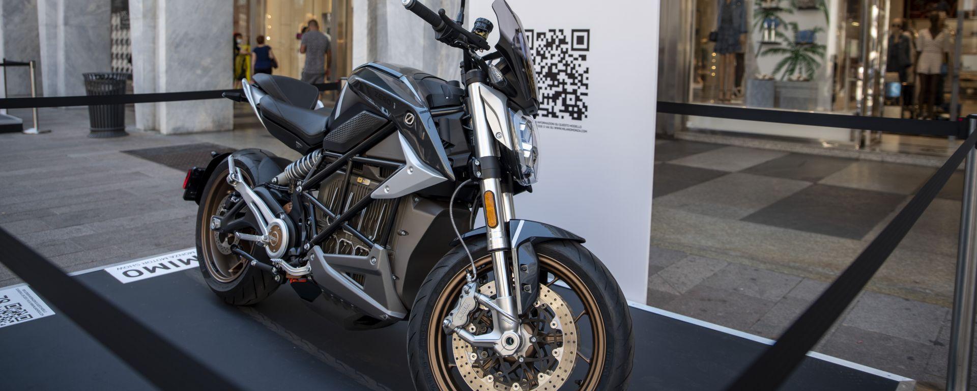 MIMO 2021: la Zero Motorcycles SR/F