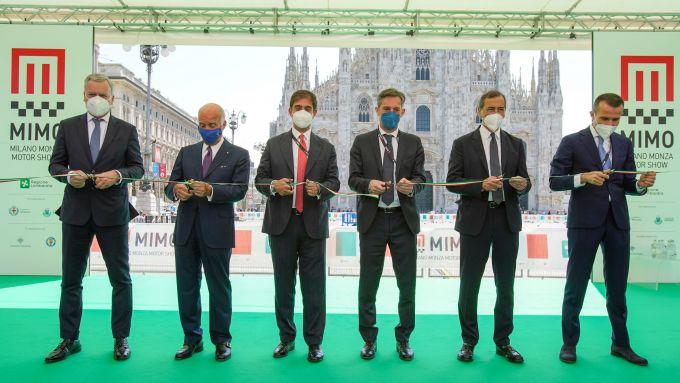 MIMO 2021: l'inaugurazione con le autorità