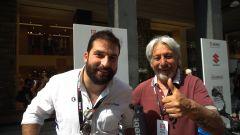 MIMO 2021, stand Suzuki: video intervista a Marco Lucchinelli