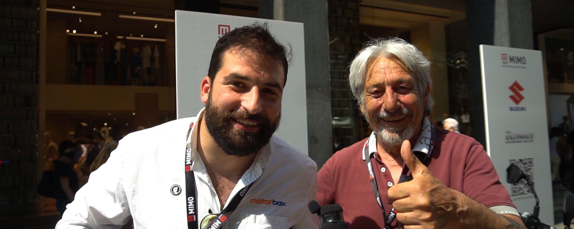 VIDEO: chi ti incontro a MIMO? Botta e risposta con Marco Lucchinelli