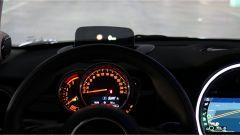 Mini 3 porte Cooper D: l'head-up display