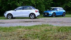 Mini 5 porte vs Audi A1 Sportback - Immagine: 7