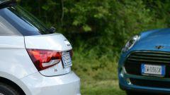 Mini 5 porte vs Audi A1 Sportback - Immagine: 10