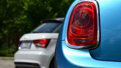 Mini 5 porte vs Audi A1 Sportback - Immagine: 9