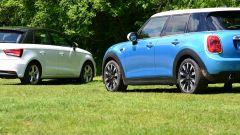 Mini 5 porte vs Audi A1 Sportback - Immagine: 8
