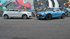 Mini 5 porte vs Audi A1 Sportback - Immagine: 4