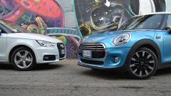 Mini 5 porte vs Audi A1 Sportback - Immagine: 5
