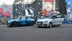 Mini 5 porte vs Audi A1 Sportback - Immagine: 2