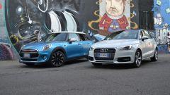 Mini 5 porte vs Audi A1 Sportback - Immagine: 3