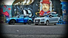 Mini 5 porte vs Audi A1 Sportback - Immagine: 1