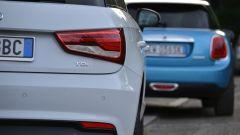 Mini 5 porte vs Audi A1 Sportback - Immagine: 13