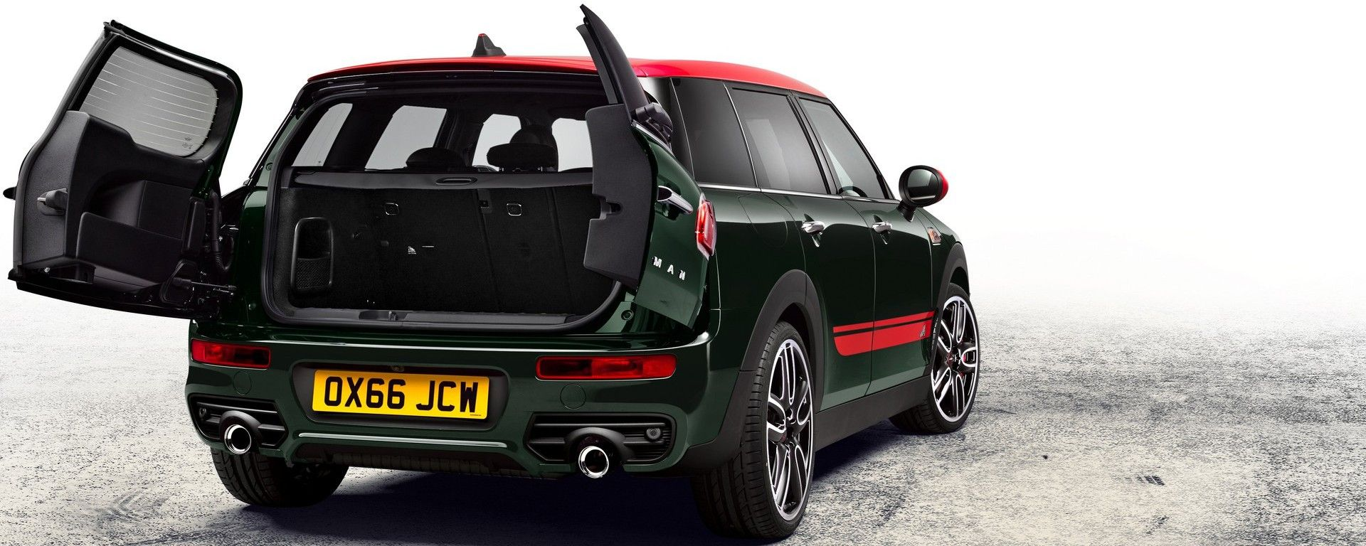 Mini Clubman John Cooper Works 2017: le split doors