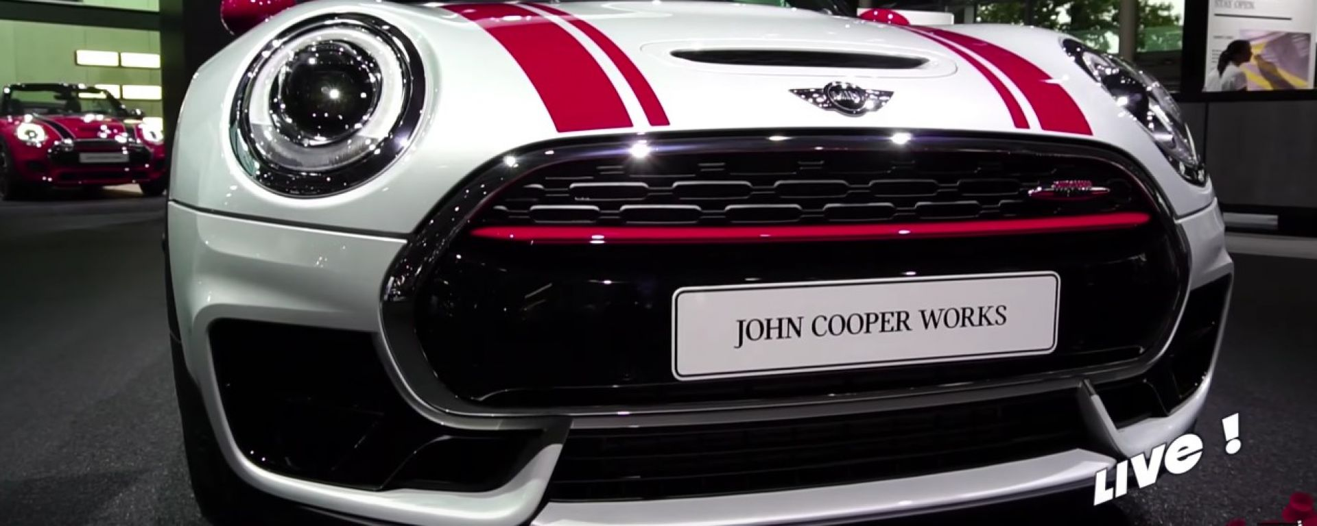 Mini Clubman John Cooper Works, Salone di Parigi 2016
