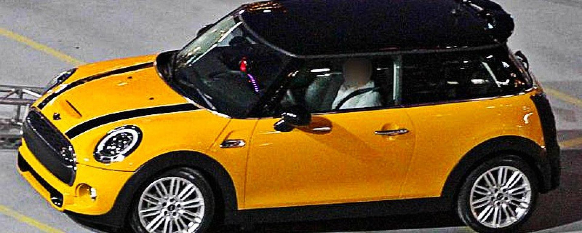 Mini Cooper S 2014, le foto-spia