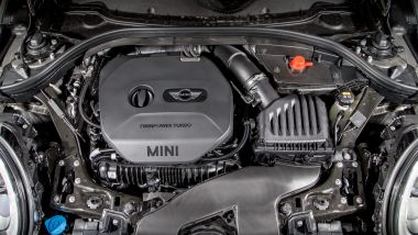 Mini Cooper S All4 Clubman: dettaglio del motore