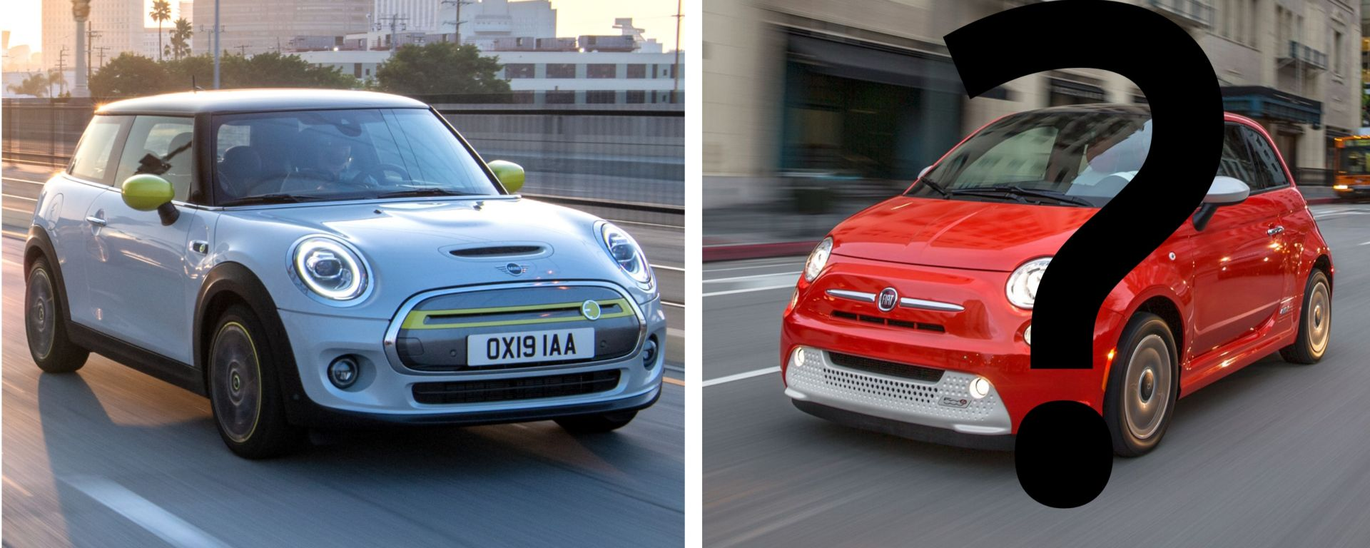 Mini Cooper SE vs Fiat 500 BEV: chi vincerà?