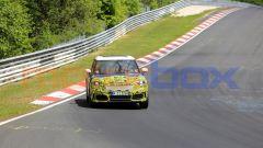 Mini Countryman 2021, foto spia al Nurburgring: vista frontale