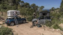 Mini Countryman: la lunghezza della tenda Autohome è di 2,1 metri mentre in larghezza misura 1,3 metri