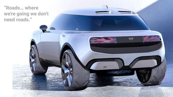 Mini e-SUV: sarà fatto così?