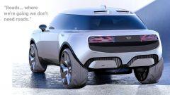 Mini eSUV concept posteriore
