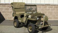 Mini Jeep Willys: modello del fuoristrada marciante all'asta