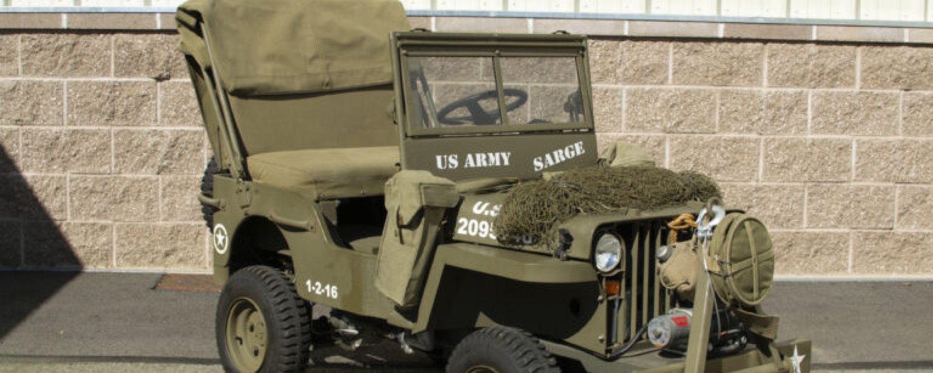 Mini Jeep Willys: il modello in scala del fuoristrada americano della Seconda guerra mondiale
