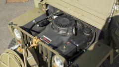 Mini Jeep Willys: il moderno motore Honda per tagliaerba