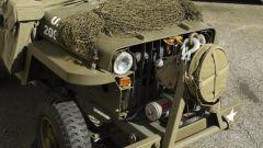 Mini Jeep Willys: le luci funzionano grazie a un efficace impianto elettrico