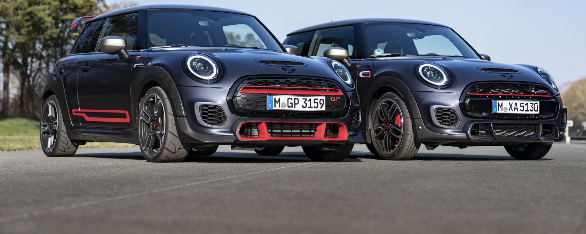 Mini John Cooper Works GP & Mini John Cooper Works con GP Pack