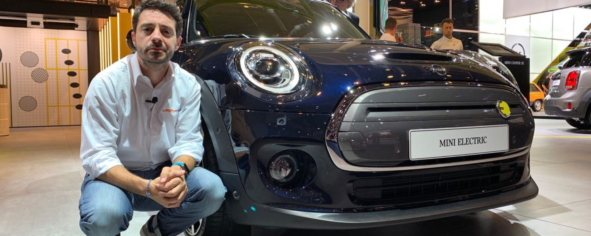 Mini SE, l'elettrica in video dal Salone di Francoforte 2019