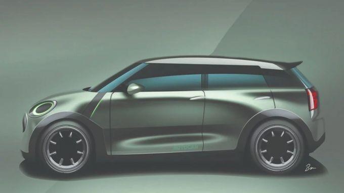 Mini Traveller, il rendering di Autocar UK