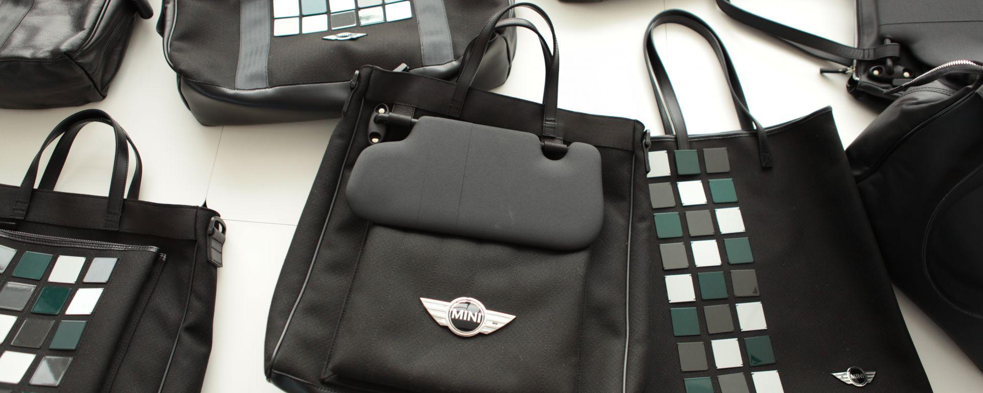 MINI: una linea di borse con gli scarti della Roadster