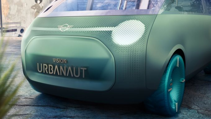 Mini Vision Urbanaut: i gruppi ottici dinamici anteriori
