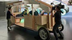 Mini Vision Urbanaut: il modello in legno e la realtà aumentata per il progetto