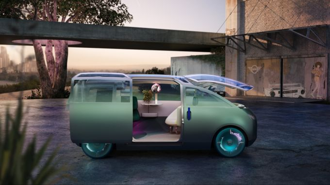 Mini Vision Urbanaut: in configurazione