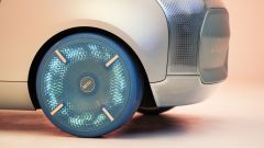 Mini Vision Urbanaut: le ruote illuminate