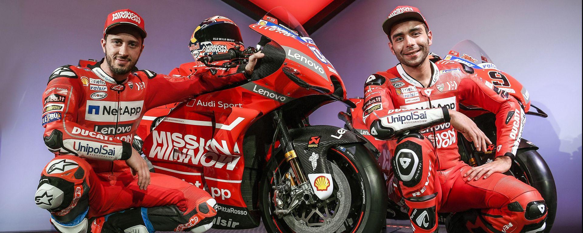 Mission Winnow Ducati - Andrea Dovizioso e Danilo Petrucci
