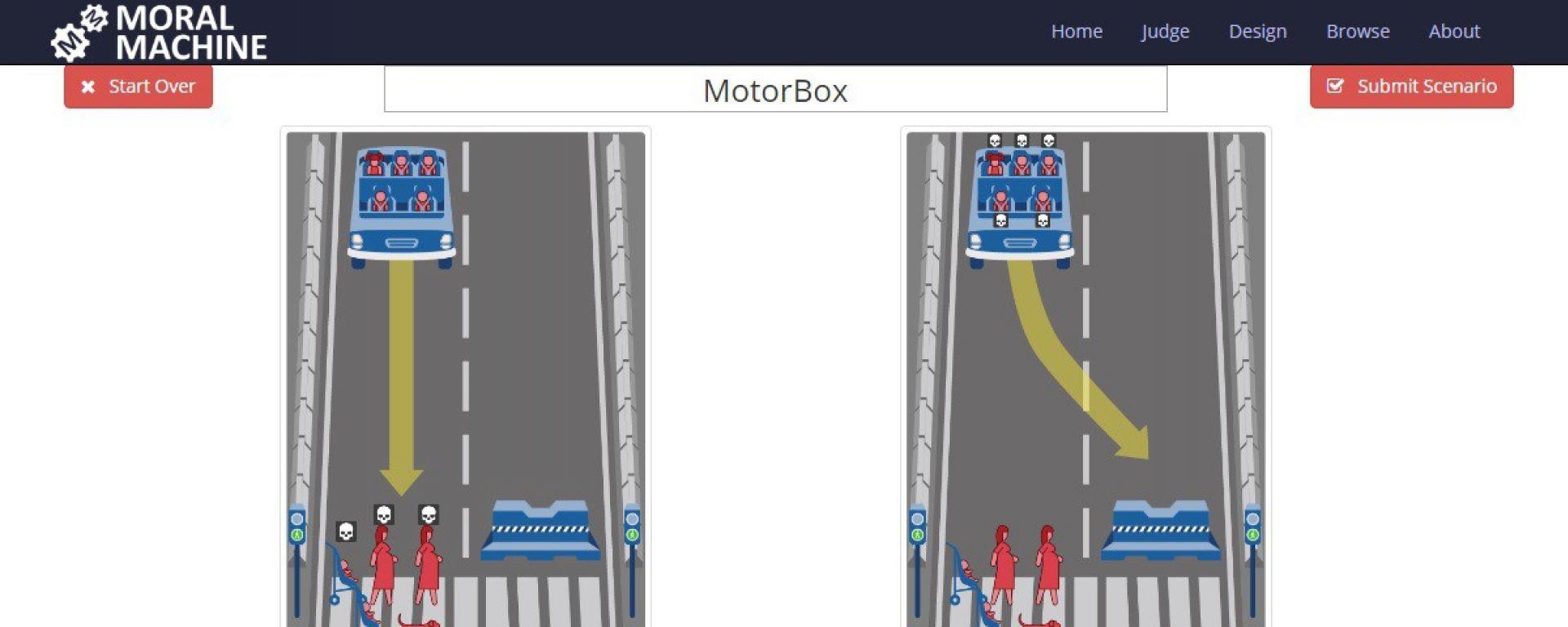Moral Machine: il sito social per l'etica delle auto robot
