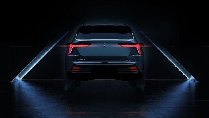 Mitsubishi Airtrek: il teaser del nuovo SUV elettrico di Tokyo