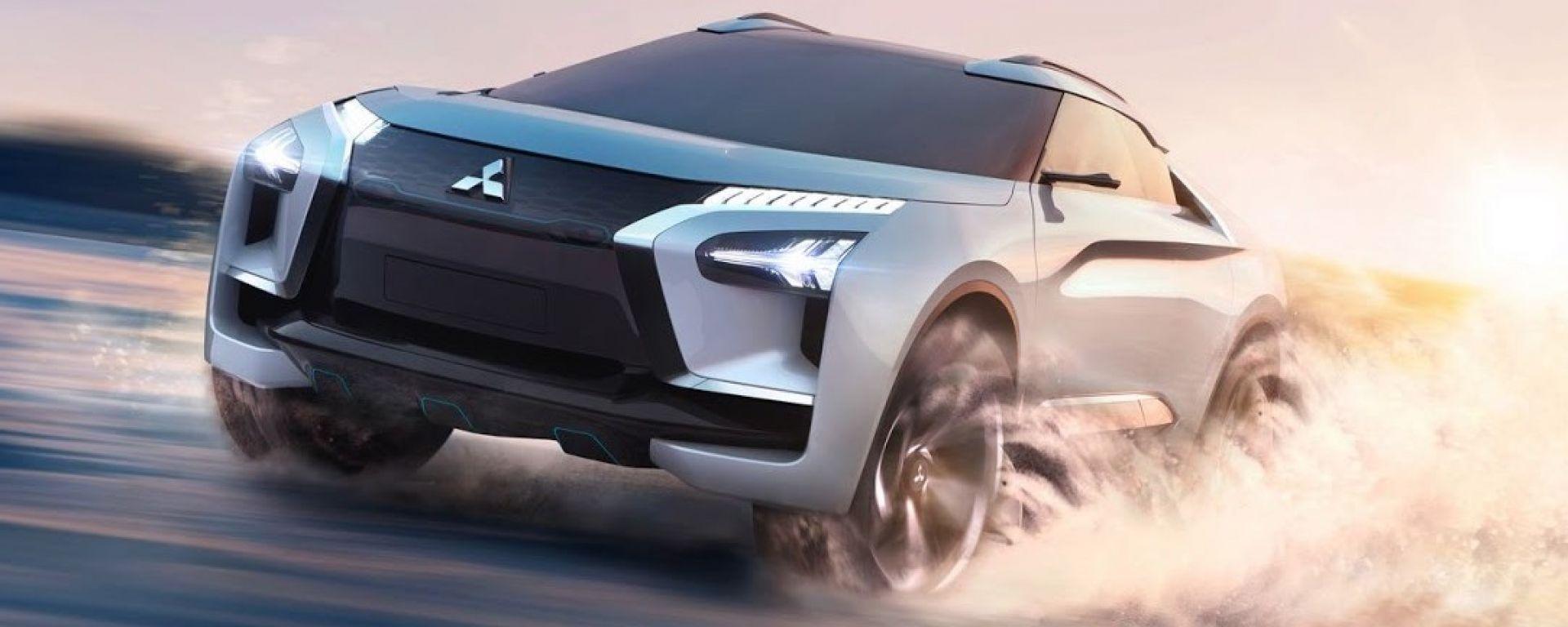 Mitsubishi  e-Evolution Concept: torna la mitica Evo
