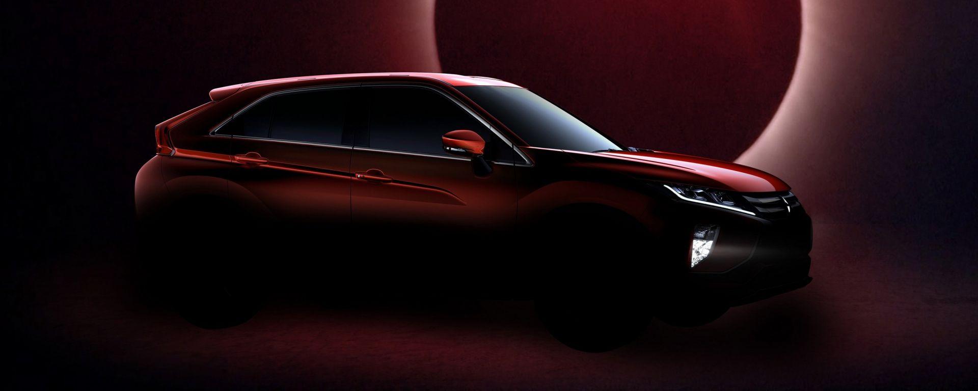 Mitsubishi Eclipse Cross: debutterà a Ginevra il nuovo suv giapponese