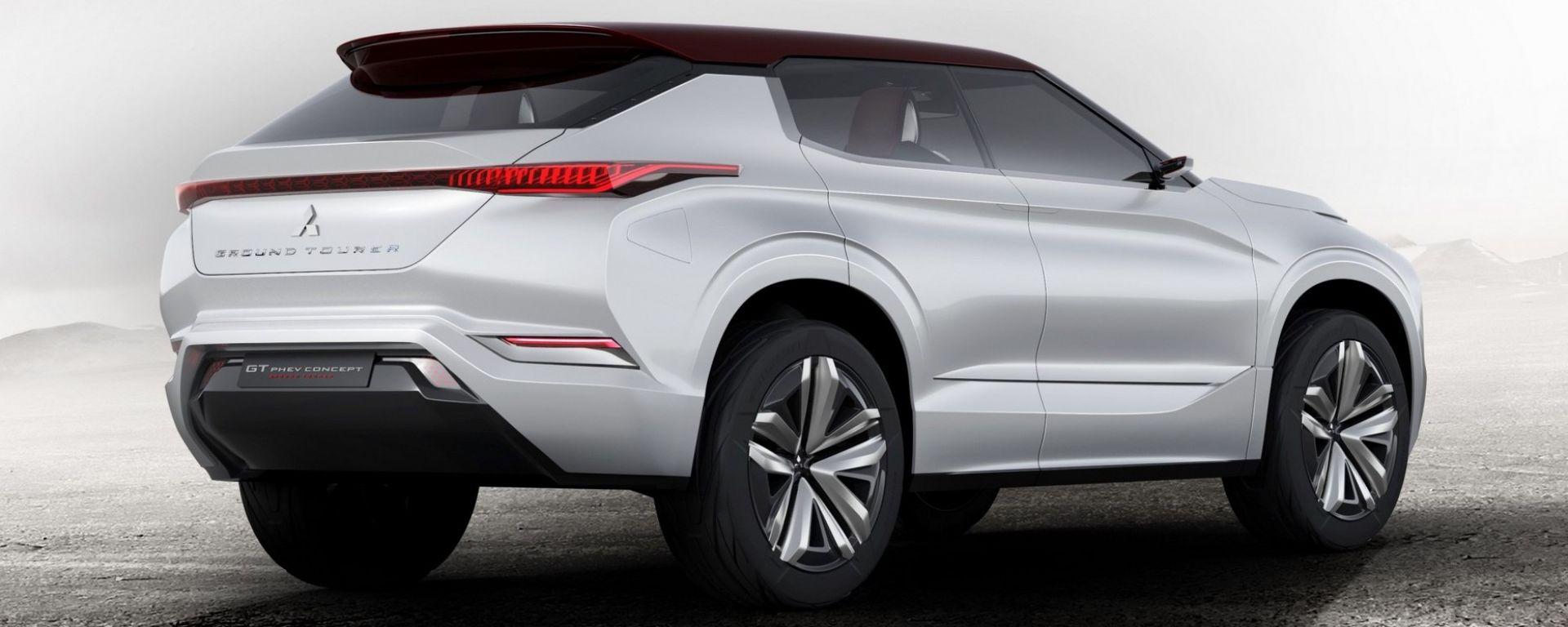 Mitsubishi GT-PHEV Concept, debutto al Salone di Parigi 2016