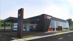 Mitsubishi Italia: ottimi risultati per il primo semestre, l'immagine dei nuovi concessionari