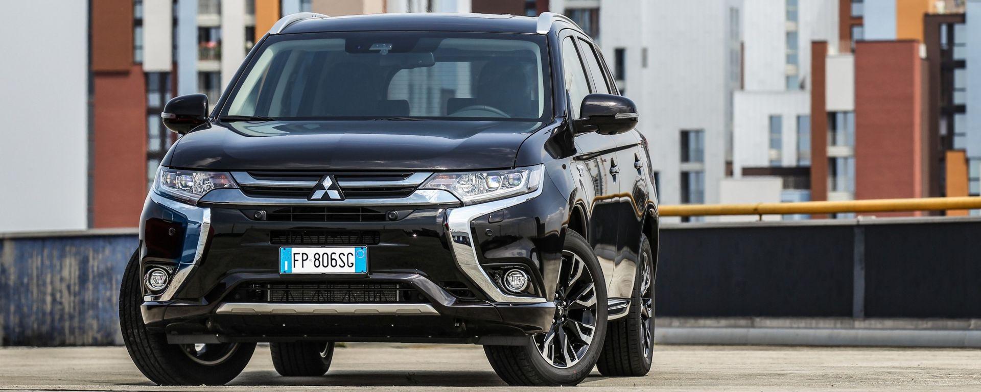 Mitsubishi Outlander PHEV 2018: ecco come funziona e come va