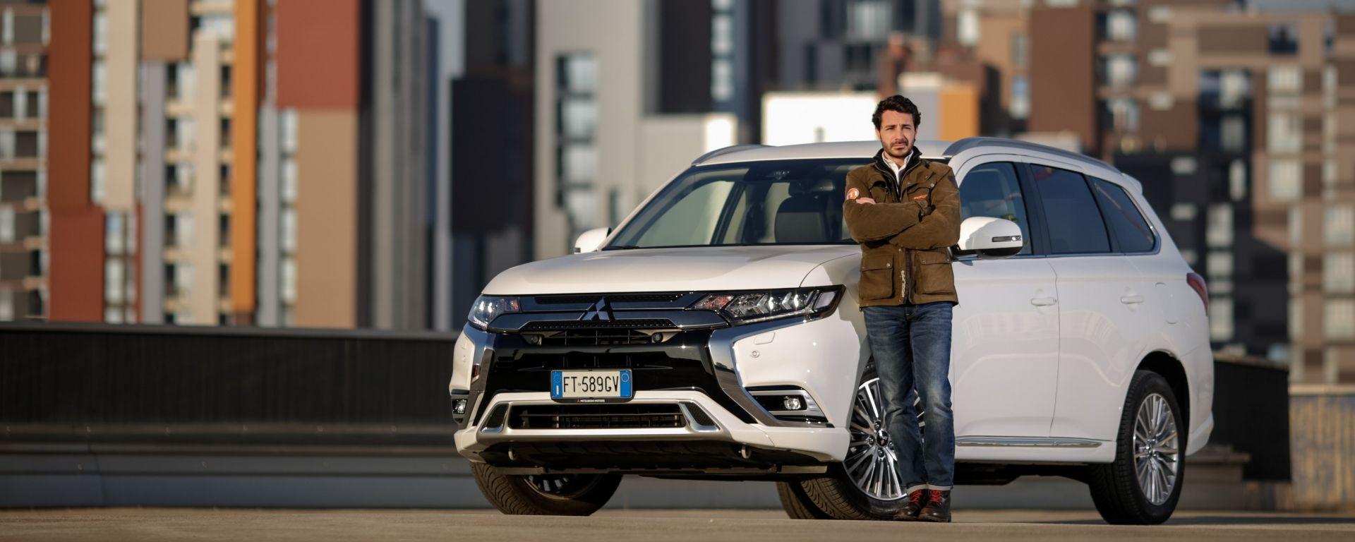 Mitsubishi Outlander PHEV: i vantaggi dell'elettrico senza l'ansia da ricarica