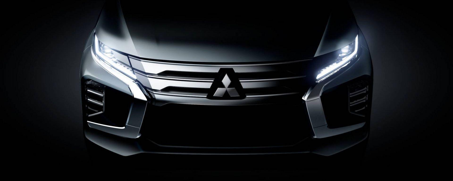 Mitsubishi Pajero Sport 2020, il teaser