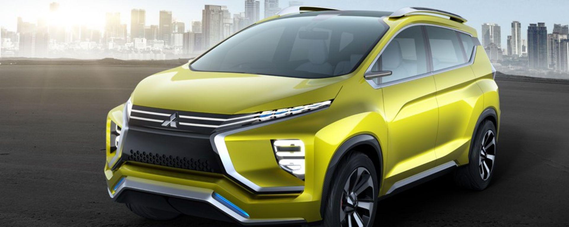 Mitsubishi XM concept: presentata al Gakindo Indonesia International Auto Show