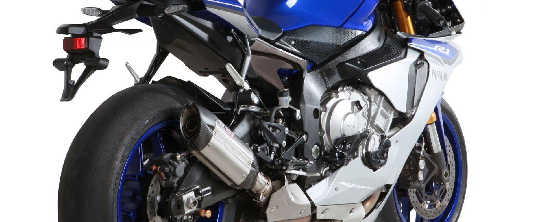 MIVV: due scarichi per Yamaha YZF-R1 2015