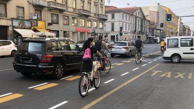 Mobilità a Milano ai tempi della Fase 2: le corsi ciclabili