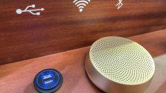 Mole Urbana: wifi e USB all'interno
